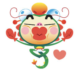 Dragon Boy Facebook sticker #2