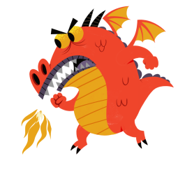 Sticker de Facebook / Messenger Dragon Clan #4
