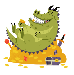 Facebook sticker Dragon Clan 6