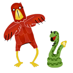 Adler & Schlange Facebook sticker #1