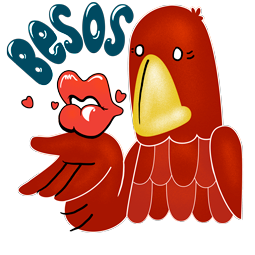 Adler & Schlange Facebook sticker #2