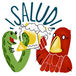 Adler & Schlange Facebook sticker #6