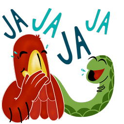 Adler & Schlange Facebook sticker #13