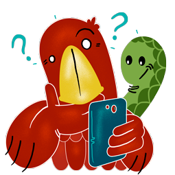 Adler & Schlange Facebook sticker #14