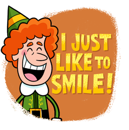Elf, el duende Facebook sticker #5