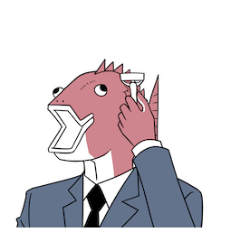 Business Fish im Alltag Facebook sticker #17