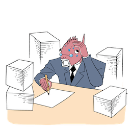 Business Fish im Alltag Facebook sticker #23