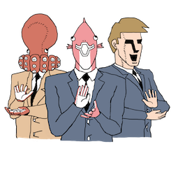 Executive Business Fish Facebook sticker #2