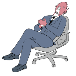 Executive Business Fish Facebook sticker #5