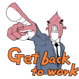 Executive Business Fish Facebook sticker #12