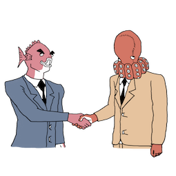 Executive Business Fish Facebook sticker #18