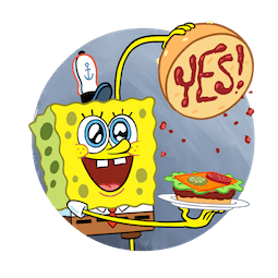 F.U.N. with SpongeBob Facebook sticker #4