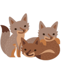 Facebook Facebook Foxes stickers