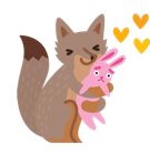 Renards Facebook Facebook sticker #24