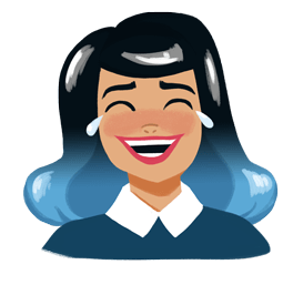 Facebook / Messenger Fearless and Fabulous sticker #4