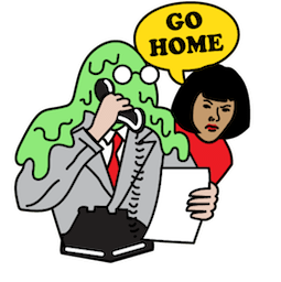 Flu Season Facebook sticker #1