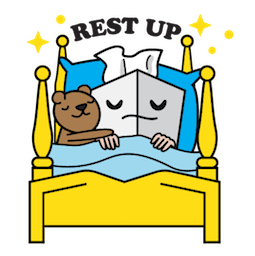 Flu Season Facebook sticker #11