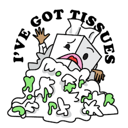Flu Season Facebook sticker #14
