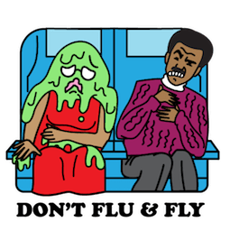 Flu Season Facebook sticker #18