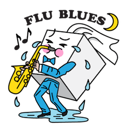 Flu Season Facebook sticker #19