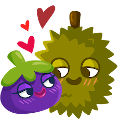 Fresh Fruit Facebook sticker #5