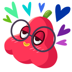 Fresh Fruit Facebook sticker #7