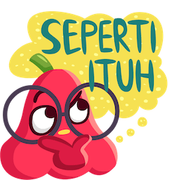 Fresh Fruit Facebook sticker #17
