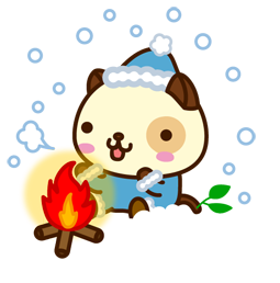 Vive les fêtes ! Facebook sticker #1