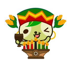 Vive les fêtes ! Facebook sticker #4