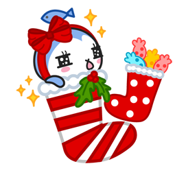 Vive les fêtes ! Facebook sticker #16