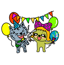 Vive les fêtes ! Facebook sticker #17