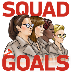 Facebook Ghostbusters stickers