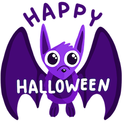 Giggles and Ghouls Facebook sticker #1