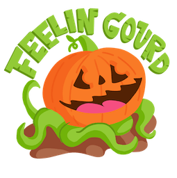 Giggles and Ghouls Facebook sticker #2