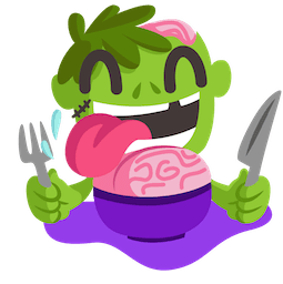 Giggles and Ghouls Facebook sticker #8