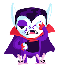 Giggles and Ghouls Facebook sticker #9