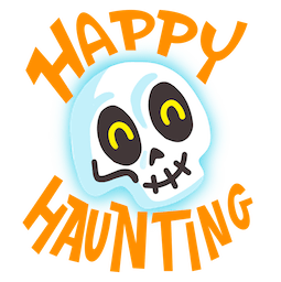 Facebook / Messenger Giggles and Ghouls Sticker #10