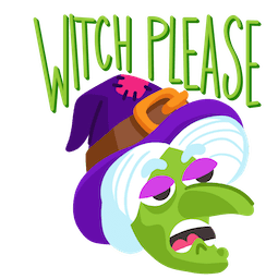 Giggles and Ghouls Facebook sticker #16