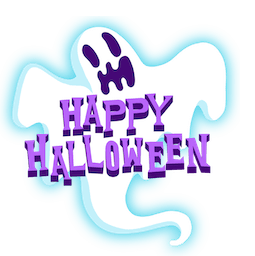 Giggles and Ghouls Facebook sticker #17