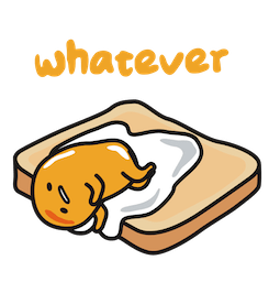 Gudetama Facebook sticker #2