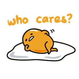 Gudetama Facebook sticker #3