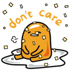 Gudetama Facebook sticker #5