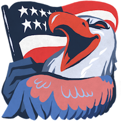 Facebook Hal the Eagle stickers