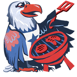 L'aigle Hal Facebook sticker #3