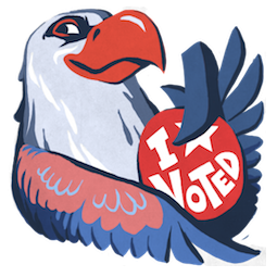 L'aigle Hal Facebook sticker #6