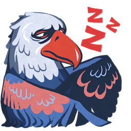 L'aigle Hal Facebook sticker #9