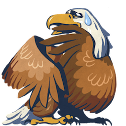 L'aigle Hal Facebook sticker #13