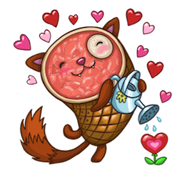 HamCat Facebook sticker #3