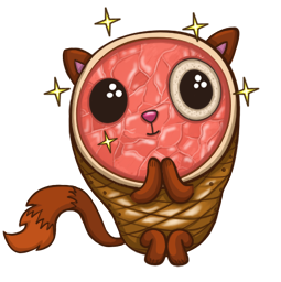 HamCat Facebook sticker #5