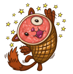 HamCat Facebook sticker #10